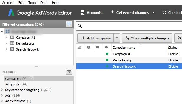 Google Adwords Duplicate Campaign
